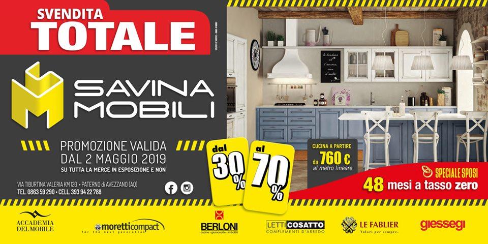 Svendita - Savina mobili - Negozio Arredamento Avezzano